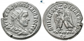 Seleucis and Pieria. Antioch. Philip I Arab AD 244-249. Tetradrachm BI