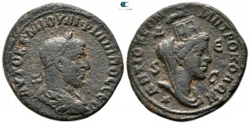 Seleucis and Pieria. Antioch. Philip I Arab AD 244-249. Bronze Æ