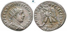 Seleucis and Pieria. Antioch. Philip II AD 247-249. Tetradrachm BI