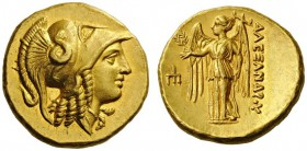 GREEK COINS   Kings of Macedon   Alexander III  'the Great', 336-323 BC. Stater (Gold, 18mm, 8.61g 6), 'Amphipolis', un­certain mint in Macedonia, c....