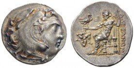 GREEK COINS   Kings of Macedon   Alexander III  'the Great', 336-323 BC. Drachm (Silver, 20mm, 4.10g 10), possibly Chios or an uncertain mint in Asia...