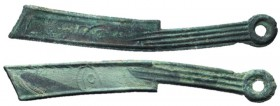 Warring States, State of Yan, 400 - 220 BC, AE You Series Knife