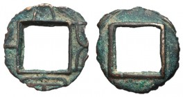 Xin Dynasty, Emperor Wang Mang, Officially Clipped Coin, 9 - 13 AD