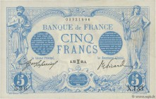 Country : FRANCE  Face Value : 5 Francs BLEU  Date : 22 février 1912  Period/Province/Bank : Banque de France, XXe siècle  Catalogue reference : F.02....