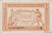 Country : FRANCE  Face Value : 1 Franc TRÉSORERIE AUX ARMÉES 1919  Date : 1919  Period/Province/Bank : Trésor  Catalogue reference : VF.04.04  Additio...