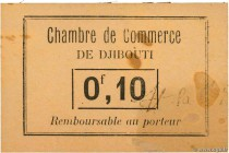 Country : DJIBOUTI  Face Value : 0,10 Franc  Date : (1919)  Period/Province/Bank : Chambre de Commerce  Catalogue reference : P.22  Additional referen...