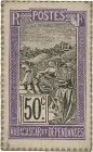 Country : MADAGASCAR  Face Value : 50 Centimes Zébu  Date : (1916)  Period/Province/Bank : Timbre Monnaie  Catalogue reference : P.19  Additional refe...