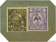 Country : NEW CALEDONIA  Face Value : 50 Centimes  Date : (1914)  Period/Province/Bank : Timbre Monnaie  Catalogue reference : P.24  Additional refere...