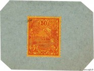 Country : NEW CALEDONIA  Face Value : 50 Centimes  Date : (1914)  Period/Province/Bank : Timbre Monnaie  Catalogue reference : P.25  Additional refere...