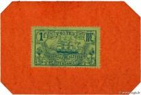 Country : NEW CALEDONIA  Face Value : 1 Franc  Date : (1914)  Period/Province/Bank : Timbre Monnaie  Catalogue reference : P.26  Additional reference ...