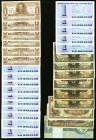 A Large Mixed Lot of 145 Notes from South America Good-Uncirculated.   HID09801242017