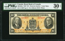 Canada Royal Bank of Canada 10 Dollars 2.1.1935 Ch. #630-18-04a PMG Very Fine 30 EPQ.   HID09801242017