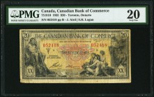 Canada Canadian Bank of Commerce 20 Dollars 2.1.1935 Ch. # 75-18-10 PMG Very Fine 20.   HID09801242017