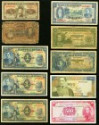 Colombia Group Lot of 10 Examples Good-Very Fine.   HID09801242017