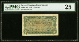Egypt Egyptian Government 5 Piastres 1940 Pick 163 PMG Very Fine 25.   HID09801242017