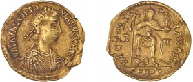 Roman - Valentinian III (425-455) - Solidus