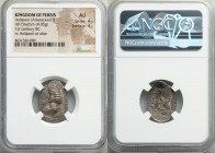 PERSIS KINGDOM. Ardaxsir (Artaxerxes) II (ca. 1st century BC). AR drachm (17mm, 4.05 gm, 12h). NGC AU 4/5 - 3/5. Crowned, draped bust of Ardaxsir left...