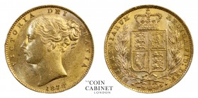 AUSTRALIAN GOLD SOVEREIGNS. Victoria, 1837-1901. Gold Sovereign, 1878-S, Sydney. Shield. 8.00 g. 22.05 mm. Mintage: 1,259,000. Marsh 74, S.3855. About...