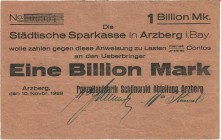 Städte und Gemeinden nach 1914