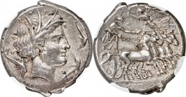 SICULO-PUNIC. Lilybaeum. Ca. 350-300 BC. AR tetradrachm (26mm, 17.13 gm, 1h). NGC Choice XF S 5/5 - 5/5. Head of Tanit-Kore-Persephone right, hair wre...