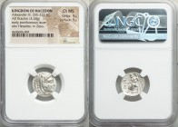 MACEDONIAN KINGDOM. Alexander III the Great (336-323 BC). AR drachm (17mm, 4.28 gm, 12h). NGC Choice MS 5/5 - 5/5. Late lifetime-early posthumous issu...