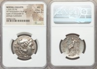 MOESIA. Callatis. Ca. 260-220 BC. AR tetradrachm (29mm, 16.81 gm, 12h). NGC AU 5/5 - 4/5. Posthumous issue in the name and types of Alexander III the ...