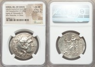 IONIAN ISLANDS. Chios. Ca. late 3rd-early 2nd centuries BC. AR tetradrachm (35mm, 17.00 gm, 12h). NGC Choice XF 5/5 - 4/5. Posthumous issue in the nam...