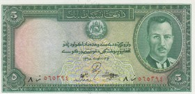 Afghanistan, 5 Afghanis, 1939, ÇİL, p22