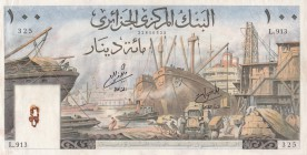 Algeria, 100 Dinars, 1964, AUNC, p125