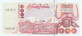 Algeria, 1000 Dinars, 1992, UNC, p140
