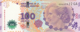 Argentina, 100 Pesos, 2012, UNC, p358