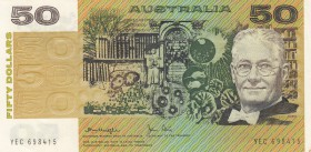 Australia, 50 Dollars, 1979, AUNC, p47c