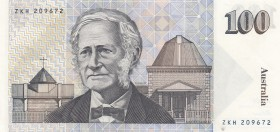Australia, 100 Dollars, 1992, AUNC, p48d