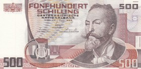 Austria, 500 Shillings, 1985, UNC, p151