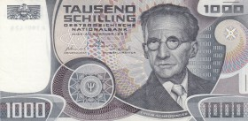 Austria, 1000 Shillings, 1983, AUNC, p152