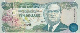 Bahamas, 10 Dollars, 2000, UNC, p64