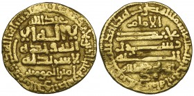 FATIMID, AL-MAHDI (297-322h) Dinar, al-Qayrawan 302h Weight: 4.00g Reference: Nicol 28 Good fine and a rare early date