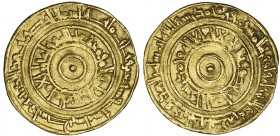 FATIMID, AL-'AZIZ (365-386h) Dinar, Filastin 376h Weight: 4.15g Reference: Nicol 678 Almost very fine, rare
