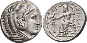KINGS OF MACEDON. Alexander III 'the Great', 336-323 BC. Tetradrachm (Silver, 26 mm, 17.25 g, 9 h), struck during the reign of Philip III, Amphipolis,...