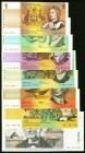 Australia Reserve Bank of Australia Denomination Set of 7 Examples Extremely Fine-Uncirculated.   HID09801242017