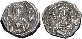 Alexius I Comnenus, April 1081 – August 1118, with colleagues from 1088. Pre-reform coinage, 1081-1092. Debased Tetarteron, Thessalonica 1081-1087, EL...