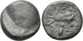 "EASTERN EUROPE. Imitations of Philip II of Macedon (2nd-1st centuries BC). Drachm?. ""Cotini/Buckelavers"" type."
