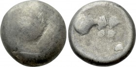 "EASTERN EUROPE. Imitations of Philip II of Macedon (2nd-1st centuries BC). Tetradrachm. ""Cotini/Buckelavers"" type."