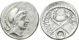 EASTERN EUROPE. Imitations of Roman Republican. Eravisci (After 48 BC). Denarius. Imitating Albinus Bruti F..