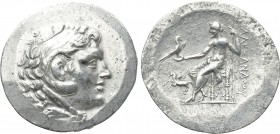 KINGS OF MACEDON. Alexander III 'the Great' (336-323 BC). Tetradrachm. Alabanda. Dated CY 1 (Circa 169/8).
