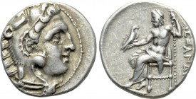 KINGS OF MACEDON. Alexander III 'the Great' (336-323 BC). Drachm. Uncertain mint in western Asia Minor.