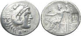 KINGS OF MACEDON. Alexander III 'the Great' (336-323 BC). Tetradrachm. Aspendos. Dated CY 9 (Circa 204/3).