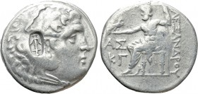 KINGS OF MACEDON. Alexander III 'the Great' (336-323 BC). Tetradrachm. Aspendos. Dated CY 23 (Circa 190/89).