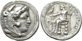 KINGS OF MACEDON. Alexander III 'the Great' (336-323 BC). Tetradrachm. Tarsos. Lifetime issue.