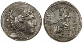 MACEDONIA: Alexander III, the Great, 336-323 BC, AR tetradrachm, Amphipolis, Price-108; Müller-369, early posthumous issue, circa 322-317 BC, struck u...